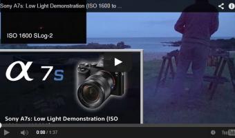 カメラが好きなデザイナーが一度は触りたい一眼レフ SONY「α7S」ボディ ILCE-7S