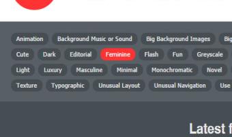 デザインや目的で絞り込める、かっちょいいウェブデザインギャラリー