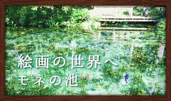 まるでモネの絵画!?「モネの池」に行ってきました